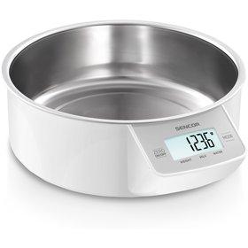 Kuchynská digitálna váha Sencor SKS 4030WH