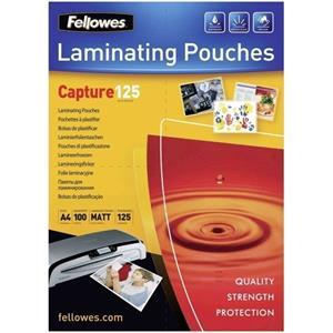 Laminating pouch 125 µ, 216x303 mm - A4, 100 pcs
