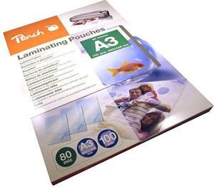 Laminovacia fólia Peach PP580-01 lesklé 100ks A3, 80mic