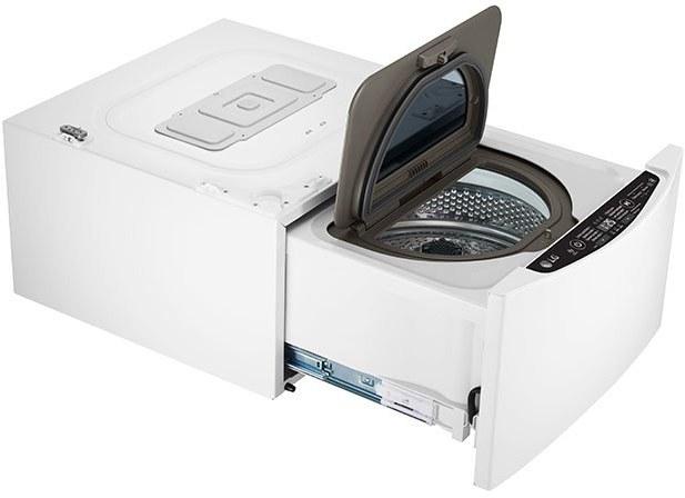 LG F28K5XN3, mini práčka predom plnená