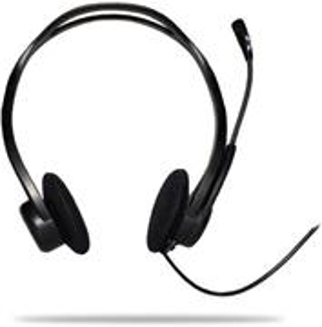 Logitech PC 960, Stereo Headset, stereo slúchadlá s mikrofónom, USB