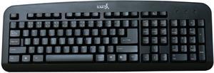 Logo Standard, klávesnica, čierna, USB, CZ/SK