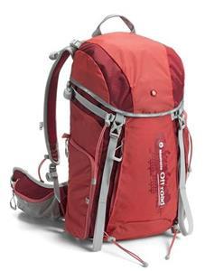 Manfrotto Off road Hiker 30L, trekingový foto ruksak, červený