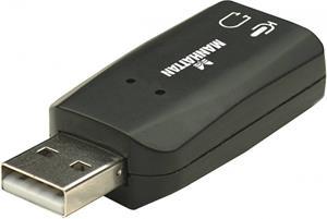 Manhattan 3D zvuková karta USB