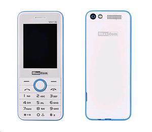 Maxcom MM136 Dual Sim, Bielo modrý
