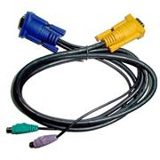 Micronet 3-in-1 PS/2 KVM Cable C200K-1 ,1,8m