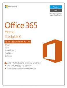 Microsoft Office 365 pre domácnosti ESD