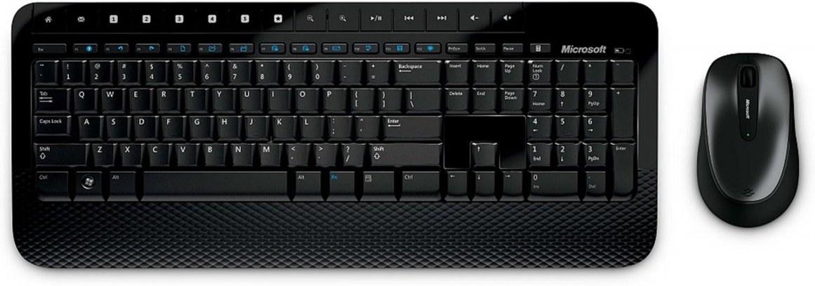 Microsoft Wireless Desktop 2000, set, USB, CS/SK, čierne prevedenie