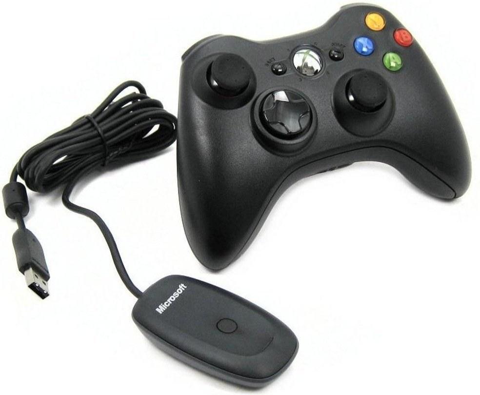 Microsoft Xbox Gamepad, pre Windows PC a XBOX 360, bezdrôtový