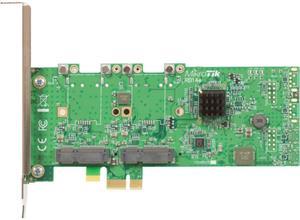 Mikrotik RB14e 4 slot miniPCI-e, to PCI-e adapter