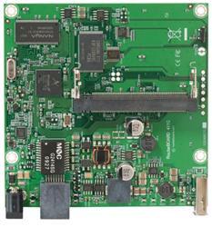 MIKROTIK RouterBOARD 411GL + L4 (680MHz; 64MB RAM, 1xLAN, 1xMiniPCI, 1xUSB)