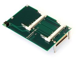 MIKROTIK RouterBOARD RB502 daughterboard (2x MiniPCI)