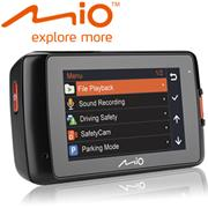 MIO MiVue 618, kamera do auta, GPS