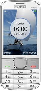 Mobilný telefón Maxcom Classic MM320, biely