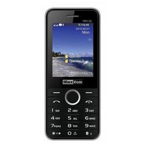 Mobilný telefón Maxcom MM136, DualSIM, čierny