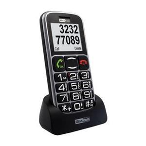 Mobilný telefón pre seniorov MAXCOM MM462, čierny
