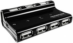 Modecom Wawe USB HUB 7-portový aktívny