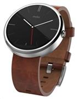 MOTO 360 smart watch hodinky natural