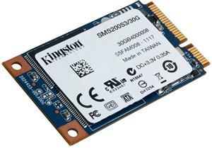 mSATA SSD 30GB Kingston SSDNow (6Gbps)