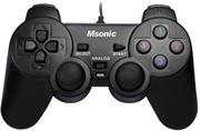 MSONIC Gamepad USB PC/PS3, vibračný režim MN3329BK