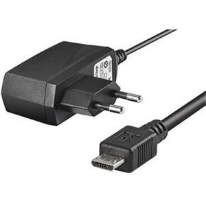 Nabíjecí zdroj s konektorem micro USB pro mobilní telefony na 230V, 500mA