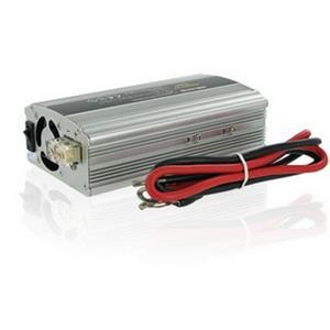 Napäťový menič Whitenergy AC/DC z 24V na 230V 400W, USB
