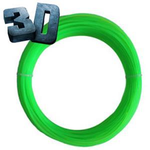Náplň pre 3D pero flourescentná neónovo zelená 1.75mm
