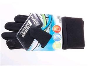 Natec Rukavice na dotykové displeje (smartphony/tablety/PSP), fleece, čierne
