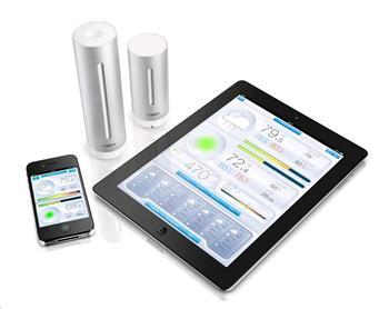 Netatmo Meteostanica pre iPhone/iPad/iPod Touch Silver