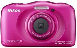 Nikon Coolpix W100 ružový