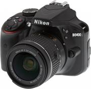 Nikon D3400 + AF-P 18-55 VR čierny