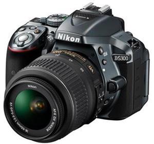 NIKON D5300 + AF-P 18-55 VR GREY