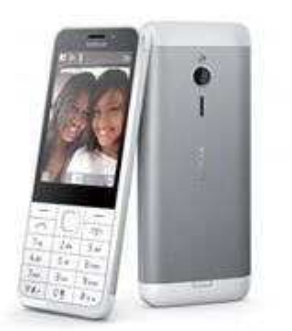 Nokia 230, Dual SIM, biela, hliníkové telo