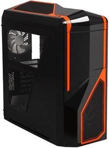 NZXT Phantom 410 Midi-Tower - black / orange