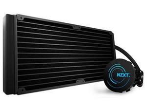 NZXT vodní chladič Kraken X61 (280mm)/skt. 2011-3/1366/1156/1155/1150/FM2/FM1/AM3+/AM3/AM2+/AM2/2x ventilátor 14cm/6 let
