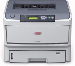 OKI B840dn (mono laser), A3, 40ppm, USB