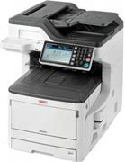 OKI MC853dn, (color laser), A3, duplex, fax, net, wifi
