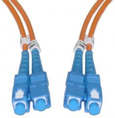 Optický patch kábel duplex SC-SC 50/125 - 10m