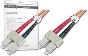 Optický patch kábel duplex SC-SC 50/125 - 2m