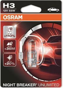 Osram Night Breaker Unlimited 64151NBU H3 +110% autožiarovka blister