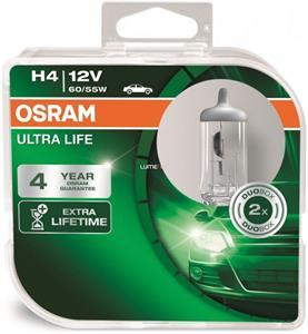Osram Ultra Life 64193ULT H4 2ks/bal.
