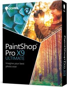 PaintShop Pro X9 ULTIMATE ML