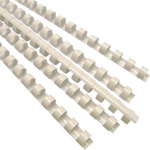 Plastové hrebene 10 mm, biele