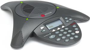 Polycom Soundstation 2, rozšíriteľný, displej