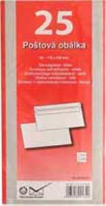 Poštové obálky DL samolepiace 25 ks