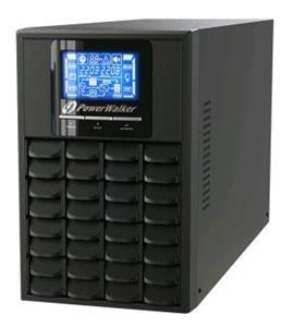 Power Walker UPS On-Line 1000VA, 4x IEC, RJ11/RJ45, USB/RS-232, LCD