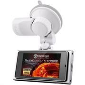 "Prestigio Car Video Rekordér Roadrunner 570 2304x1296 SHD Video 2,7"" Display USB HDMI,GPS"