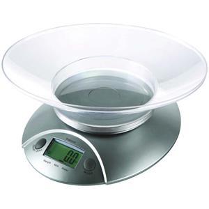 Professor KV 510, kuchynská váha, LCD displej, strieborná