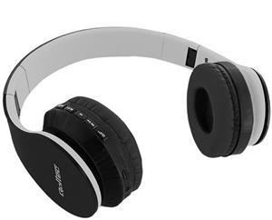 Qoltec bluetooth slúchadlá s mikrofónom | FM | TF | čierna