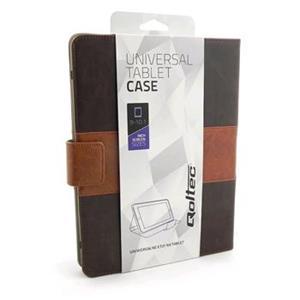 Qoltec High Effective Protection puzdro pre tablet 9-10.1'', hnedé